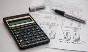 rekenmachine en rekening
